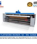 mesin flatwork roll ironer